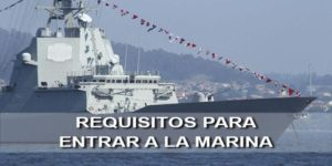requisitos para entrar en la marina